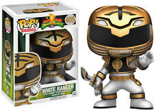 Power Rangers - White Ranger Actn Funko Pop! Television Toy