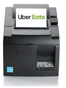 Uber Eats Compatible Receipt Printer TSP143IIIBI-230 GREY EU-UK