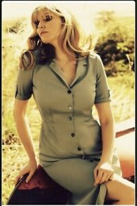 Sophie Dahl Brora Lost Weekend Collaboration Olive Green Shirt Dress 12 Utility