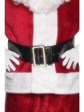 Santa Belt Father Christmas Adult Unisex Smiffys Fancy Dress Costume Accessory