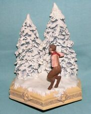 Bookend 1/2 Set Narnia Walt Disney Showcase Collection Mr Tunmus