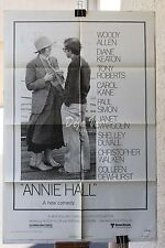 "HS Annie Hall Original Movie Poster (1977) 27"" x 41"" FINE"