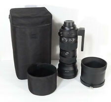 SIGMA 150-600mm f/5-6.3 DG OS HSM SPORT for NIKON- GREAT COND- WORKS PERFERCTLY