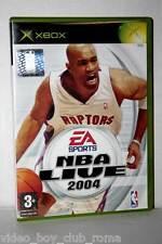 NBA LIVE 2004 GIOCO USATO OTTIMO  XBOX ED ITALIANA RETROCOMPATIBILE AD1