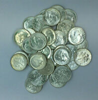 Pre 1964 Uncirculated GEM BU 90% Silver Roosevelt Dimes, Choose How Many