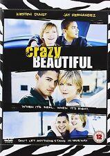 Crazy Beautiful 2002 Kirsten Dunst, Jay Hernandez, Bruce Davison NEW UK R2 DVD