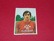 RARE BERTRAND DEMANES AGEDUCATIFS PANINI FOOTBALL 1974-1975 FC NANTES DEDICACE