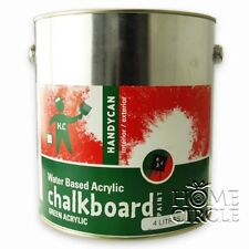 4L DIY Green Chalkboard Paint Water Based Acrylic Interior/Exterior