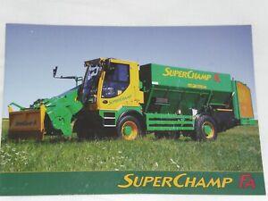 MARMIX SUPERCHAMP FA selbstfahrender Futtermischwagen Prospekt 2021( Auktt. 96 )