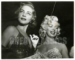 MARILYN MONROE LAUREN BACALL 1953 HOW TO MARRY VINTAGE ORIGINAL PHOTOGRAPH