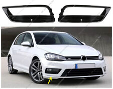 2x Front Bumper Fog Light Frame R-line Replacement k For VW Golf 7 2014-17