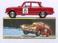 1/43 Dinky Toys 1401 Alfa Romeo Giulia 1600 Ti Rallye Alloy Diecast Car Model
