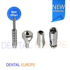 KIT 4 Pcs of Dental Abutment,Dental Healing-cap,Transfer,Analog with CE/FDA/ISO