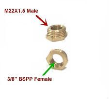 """Rohr 3/8 """" Bspt Innengewinde X M22 M22x1.5 Stecker Metrische Adapter Fassung Öl"""