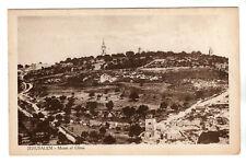 More details for mount of olives - jerusalem photo postcard c1920s