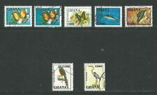 Ghana 1995 Butterfly/Bird/Fish definitives--Attractive Topical (1835-40) used