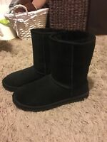 Ladies Black Ugg Boots Size 5
