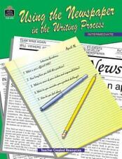 Using the Newspaper in the Writing Process intermediate paperback