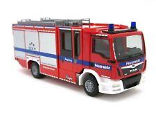 """HERPA Modell 1:87/H0 MAN TGS M Ziegler Z-Cab LF """"Feuerwehr Augsburg"""" #095242"""