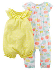 Carters Baby Girl 6 Months Romper & Jumpsuit Set Clothes