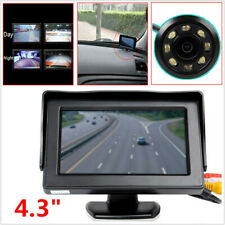 "4.3"" Car Reverse Parking LCD Display Monitor + IR Night Vision Rearview Camera"