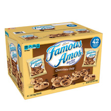 Kellogg's Famous Amos Bite Size Chocolate Chip Cookies (2 oz., 42 count)