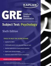 Kaplan Test Prep: GRE Subject Test: Psychology by Kaplan 2016, Paperback 6th Ed.