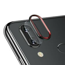 Protector lente pantalla camara anillo aluminio Xiaomi redmi note 7 7 pro NEGRO