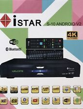 istar Korea S10 V2 Android 4K 12 Months Free Online TV 2900 channels
