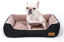 New listing Durable Dog Couch Bed Machine Washable Calming Pet Supplies Soft Comfortable