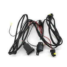 Wiring Harness For HID Conversion Kit add on Fog Light LED DRL 12V for H8