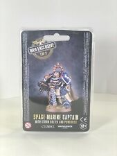 space marine captain with plasma pistol and powerfist web exclusive 1