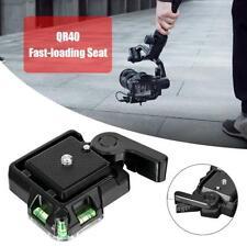 QR40 Camcorder Tripod Monopod Ball Head Quick Release Plate Case for DSLR Camera