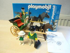 "Playmobil Klicky Set 3481 ""Doktor Kutsche, Einspänner""  gebraucht/selten"
