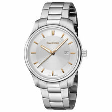 Wenger Women's Watch City Classic Silver Tone Dial Steel Bracelet 01.1421.105