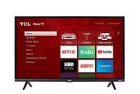 TCL 32S327 32-Inch 1080p HDMI Roku Smart HD LED TVFlat Screed HD