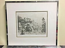 GP by Charles Bragg original etching
