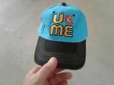 timeless design 20ddb ed06d WWE AUTHENTIC JOHN CENA Blue Throwback U Can t See Me Baseball Cap Hat  LNORNWOT