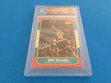 Herb Williams 1986 Fleer #125 BGS 9.5 Gem Mint