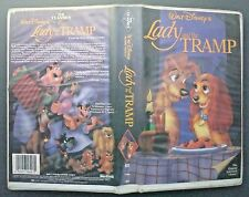 VHS tape black diamond classic LADY AND THE TRAMP model 582