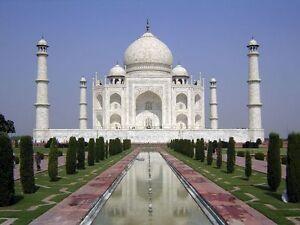 Paint By Numbers Kit 50*40cm 8167 Taj Mahal Wall Art Decor