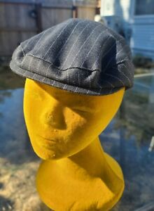 NWT Born to Love Boys Vintage Newsboy Cabbie Driver Hat  Cap Striped Large