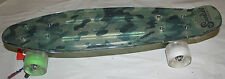 Sunset Camo Green Skateboard W/ Light Up Wheels New With Tags Free Shipping