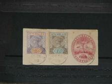 Seychelles, Scott# 3 & 8 On Eight Cent Postal Stationary Piece (Turtle)