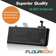 FLOUREON 6100mAh Akku für Apple A1322 MacBook Pro 13'' A1278 MB990*/A MB990CH/A