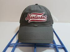 Nantucket Cap Hat Ouray Sportswear Gray Twill New