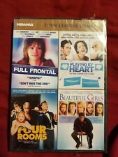 4 FILM PACK: Full Frontal/Playing by Heart/Four Rooms/Beautiful Girls (DVD 2011)