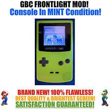Nintendo Game Boy Color GBC Frontlight Front Light Frontlit Mod Kiwi MINT NEW
