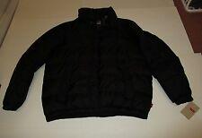 Nwt Mens Levis Black Clo Puffer Jacket Coat Large $180