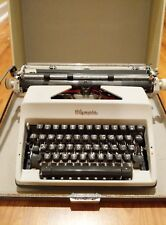 Olympia 1969 SM9 Portable Typewriter & Case West Germany RARE  - Excellent Cond